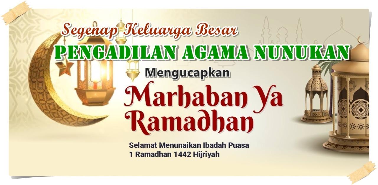 1 Ramadhan 1442 H