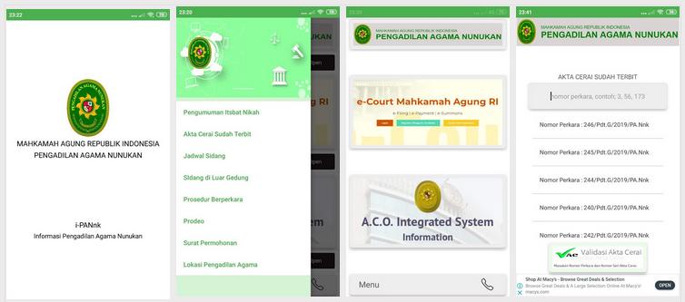 Aplikasi Surat Permohonan berbasis Android