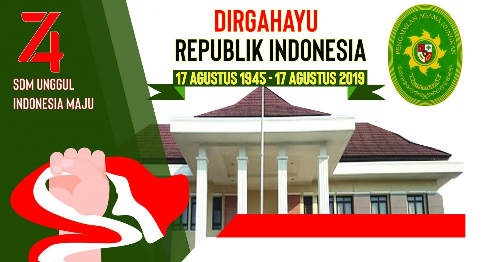 HUT ke 74 Republik Indonesia